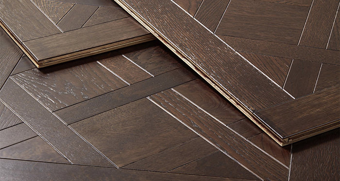 Colmar Smoked Oak Brushed & Oiled Engineered Wood Flooring - Descriptive 1