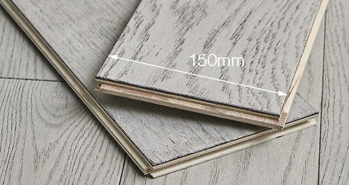 Loft Polar Oak Brushed & Oiled Engineered Wood Flooring - Descriptive 2