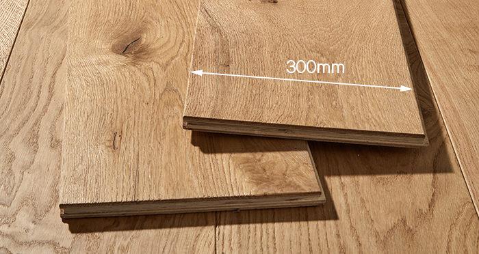 Mansion Natural Oak Brushed & Oiled Engineered Wood Flooring - Descriptive 4