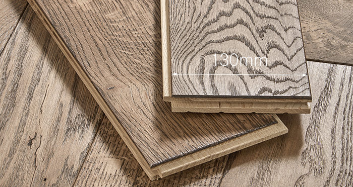 Luxury Parquet Brown Oiled Oak Solid Wood Flooring - Descriptive 4