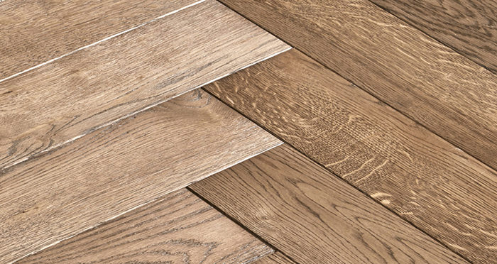 Luxury Parquet Brown Oiled Oak Solid Wood Flooring - Descriptive 6