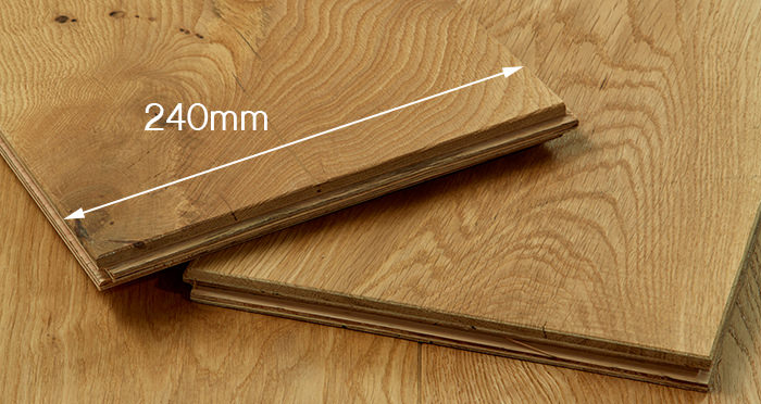 Grand Imperial Natural Oak Brushed & Oiled Engineered Wood Flooring - Descriptive 3