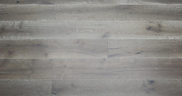 Urban Grey Oak Brushed & Lacquered Engineered Wood Flooring - Descriptive 5