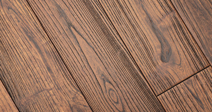 Deluxe Caramelised Teak Lacquered Solid Wood Flooring - Descriptive 3