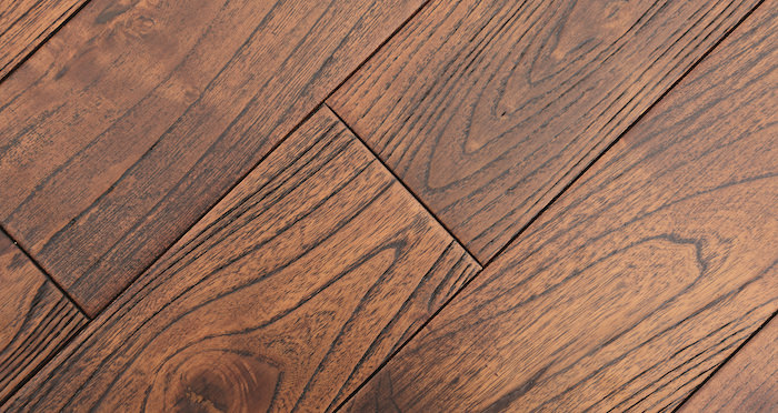 Deluxe Caramelised Teak Lacquered Solid Wood Flooring - Descriptive 6