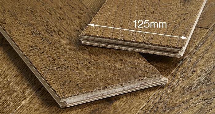 Studio Honeycomb Oak Brushed & Oiled Engineered Wood Flooring - Descriptive 4