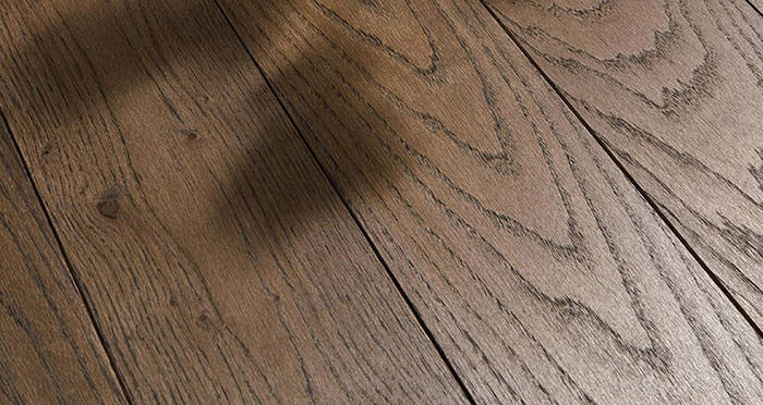 Luxury Espresso Oak Solid Wood Flooring - Descriptive 1