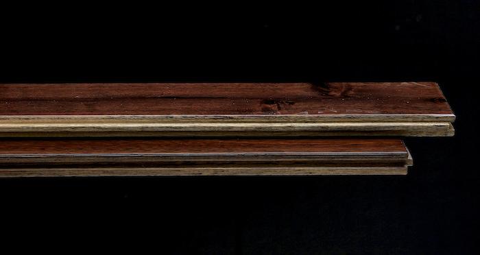 Antique Acacia Lacquered Solid Wood Flooring - Descriptive 1