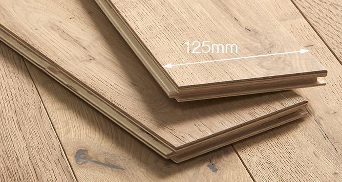 Studio Vanilla Oak Brushed & Oiled Engineered Wood Flooring - Descriptive 4