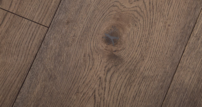 Supreme Chocolate Oak Brushed & Oiled Engineered Wood Flooring - Descriptive 3