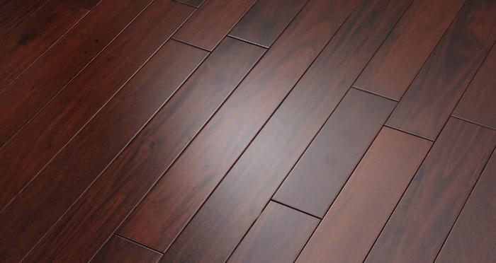 Royal Mahogany Narrow Solid Wood Flooring - Descriptive 2