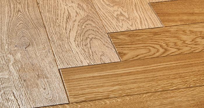 Luxury Parquet Golden Oiled Oak Solid Wood Flooring - Descriptive 1