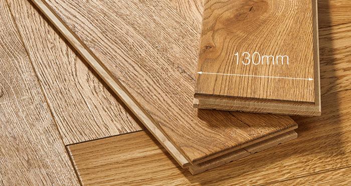Luxury Parquet Golden Oiled Oak Solid Wood Flooring - Descriptive 4