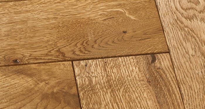 Luxury Parquet Golden Oiled Oak Solid Wood Flooring - Descriptive 5