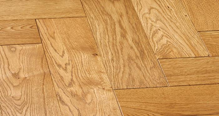Luxury Parquet Golden Oiled Oak Solid Wood Flooring - Descriptive 6
