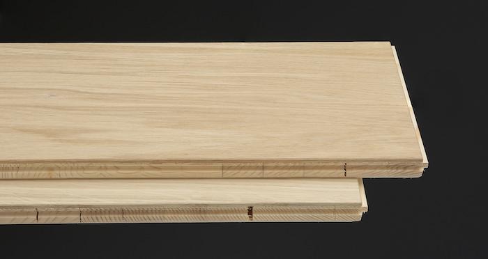 Supreme Unfinished Oak Engineered Wood Flooring - Descriptive 1