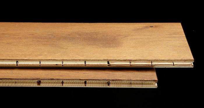 Prestige Herringbone Cinnamon Oak Oiled Engineered Wood Flooring - Descriptive 1