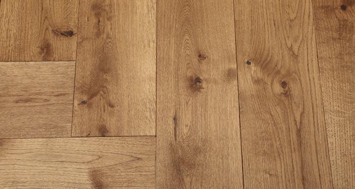 Prestige Herringbone Cinnamon Oak Oiled Engineered Wood Flooring - Descriptive 5