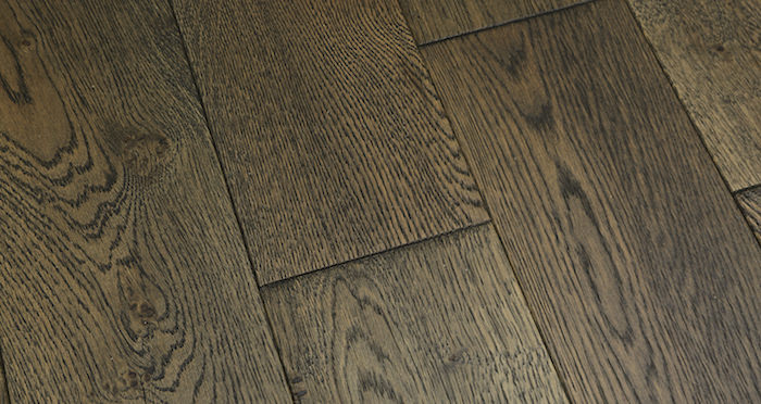 Aged Cottage Oak Brushed & Lacquered Engineered Wood Flooring 150mm Wide - Descriptive 4