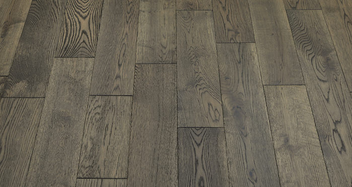 Aged Cottage Oak Brushed & Lacquered Engineered Wood Flooring 150mm Wide - Descriptive 5