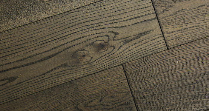 Aged Cottage Oak Brushed & Lacquered Engineered Wood Flooring 150mm Wide - Descriptive 6