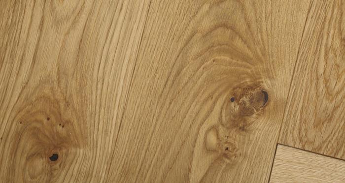 Prestige Herringbone Natural Oak Oiled Engineered Wood Flooring - Descriptive 3