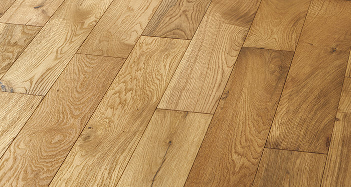 Studio Natural Oak Brushed & Oiled Engineered Wood Flooring - Descriptive 2