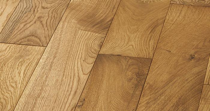 Studio Natural Oak Brushed & Oiled Engineered Wood Flooring - Descriptive 5