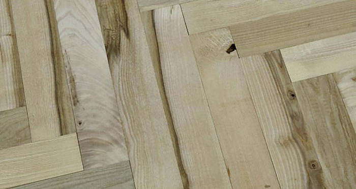Solid Ash Parquet Unfinished Solid Wood Flooring - Descriptive 1