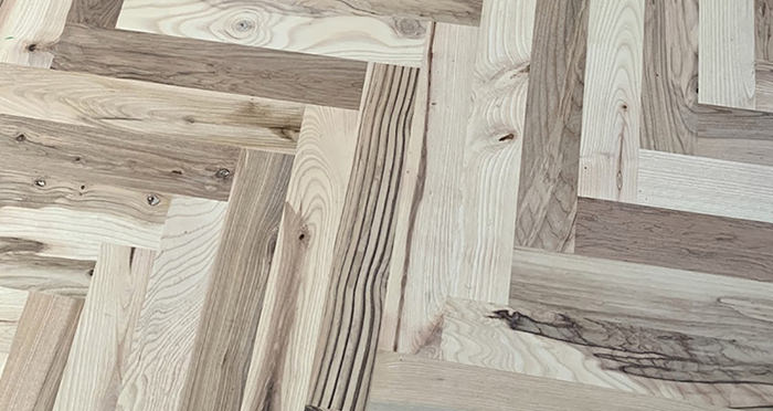 Solid Ash Parquet Unfinished Solid Wood Flooring - Descriptive 2