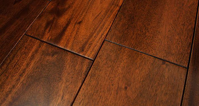Royal Mahogany Lacquered Solid Wood Flooring - Descriptive 5