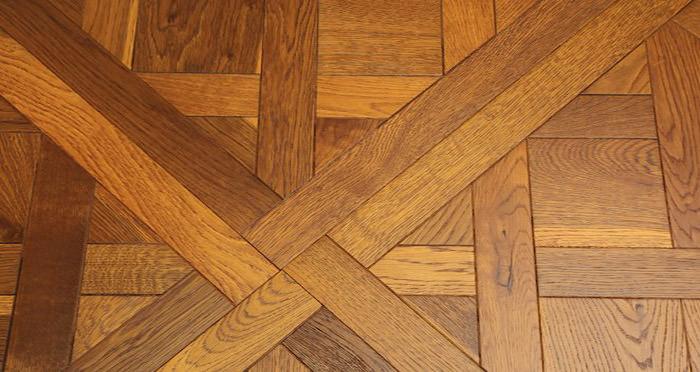 Montpellier Golden Smoked Oak Brushed & Oiled Versailles Tile Engineered Wood Flooring - Descriptive 4