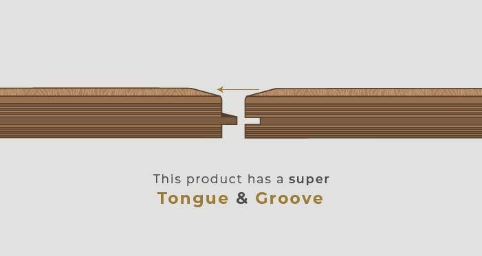 Chelsea Chevron - Golden Oak Brushed & Lacquered Engineered Wood Flooring - Descriptive 5