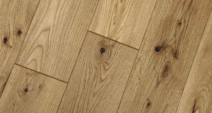 Natural Brushed & Oiled Oak Solid Wood Flooring - Descriptive 4