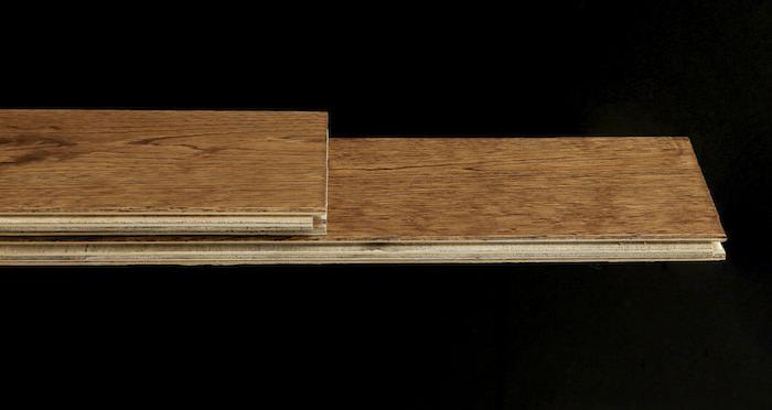Studio Honey Oak Lacquered Engineered Wood Flooring - Descriptive 1