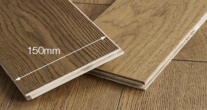 Loft Deep Golden Oak Brushed & Oiled Engineered Wood Flooring - Descriptive 3