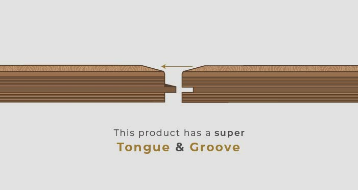 Chelsea Chevron - Urban Oak Brushed & Lacquered Engineered Wood Flooring - Descriptive 5
