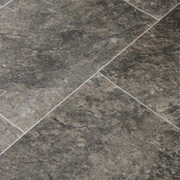 Dark Stone and Tiles Vinyl Flooring