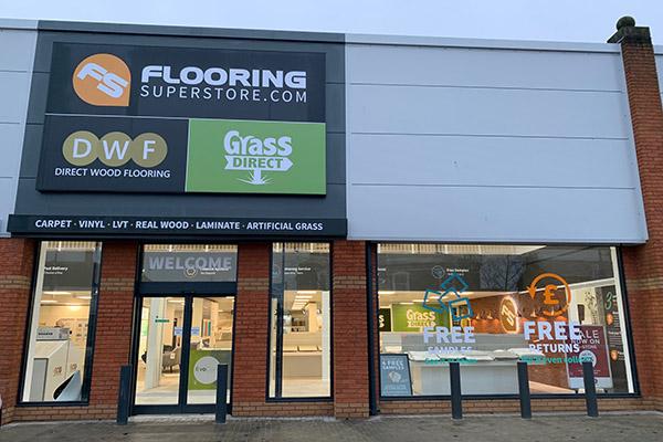 Flooring Superstore Crewe Store - Exterior 1