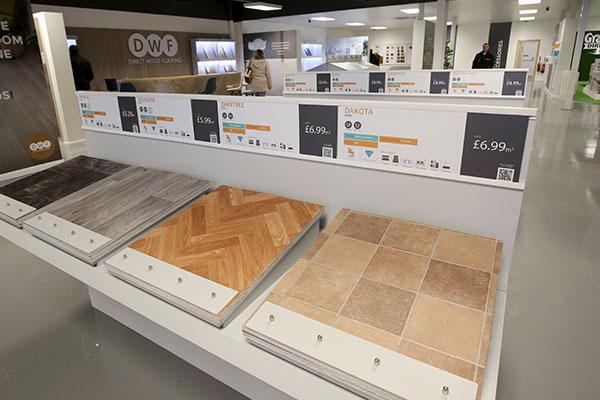Flooring Superstore Crewe Store - Stands 1