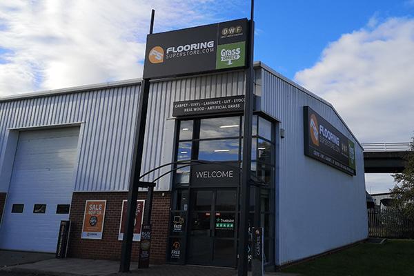 Flooring Superstore Newcastle Store - Exterior 1