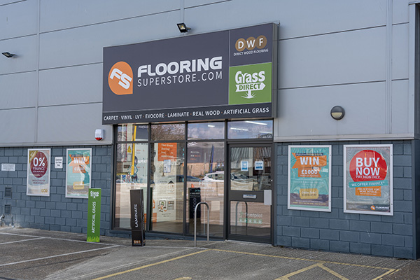 Flooring Superstore Norwich Store - Exterior 1
