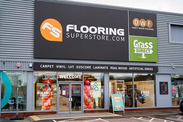 Flooring Superstore Romford Store - Exterior 1