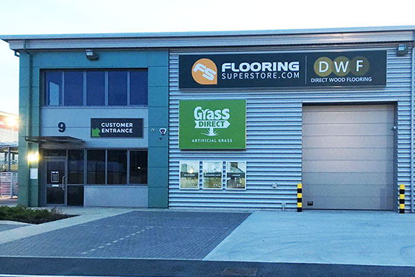Flooring Superstore Thurrock Store - Exterior 1