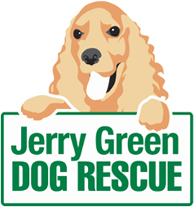 Jerry Green Dog Rescue Logo