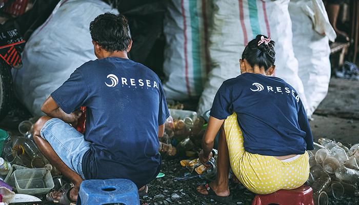 ReSea Project Sorting Plastic