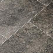 Dark Stone and Tiles Vinyl Flooring