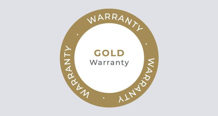 Gold Warranty